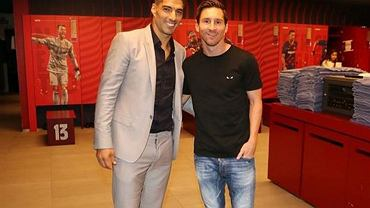 Luis Suarez i Leo Messi