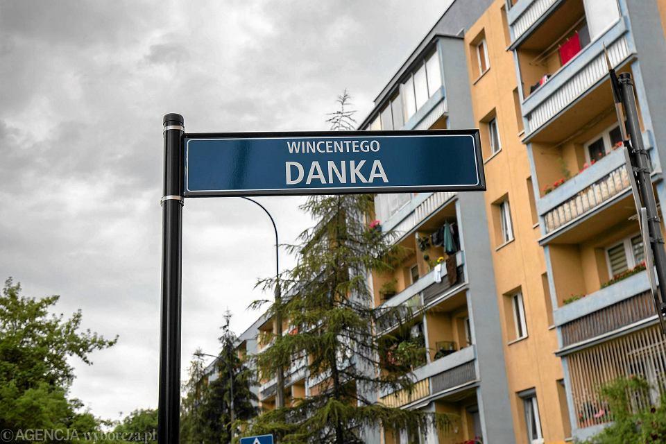 Ul. Wincentego Danka w Krakowie