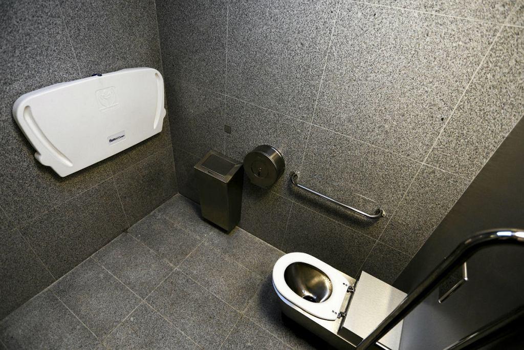 Toaleta na skrzyżowaniu ul Samarytanka i Korzona