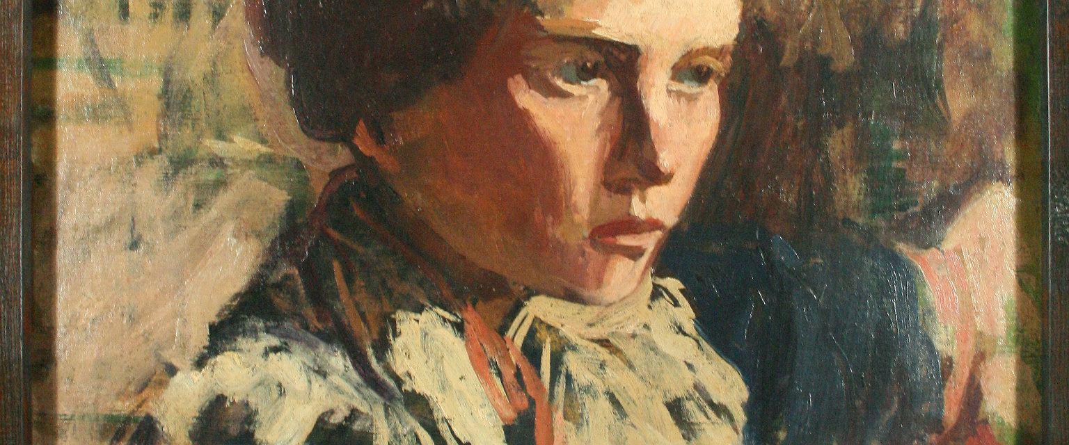 Portret Zofii Żeleńskiej autorstwa Włodzimierza Tetmajera (fot. Eastnews)
