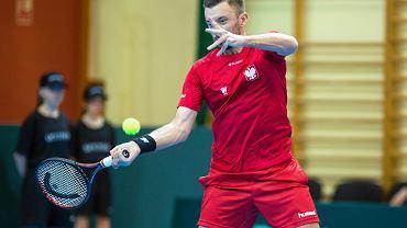 Mecz Pucharu Davisa Polska - Zimbabwe w Sopocie