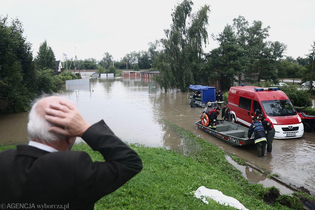 Podtopienia w Krakowie