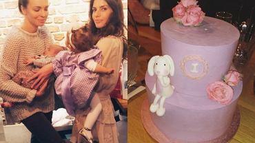 Urodziny córki Weroniki Rosati