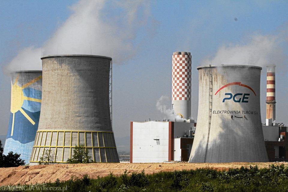 Elektrownia Turów w Bogatyni.