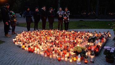 Cmentarz Centralny w Szczecinie we Wszystkich Świętych 2019