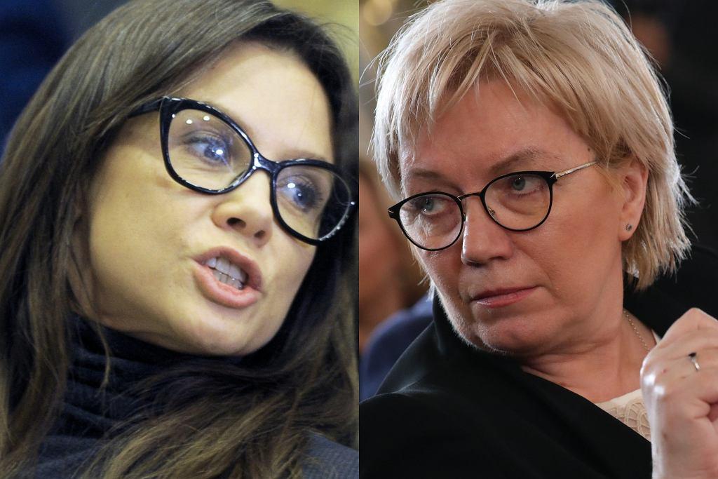 Kinga Rusin, Julia Przyłębska