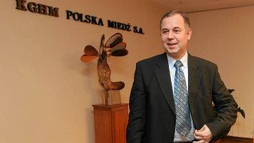 Krzysztof Skóra, były prezes KGHM bez pracy. Został odwołany z zarządu KOGENERACJI.