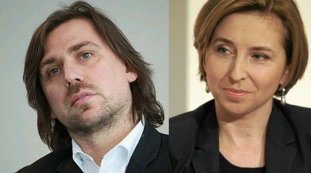Tomasz Kaczmarek i Dominika Wielowieyska