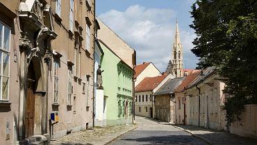 Słowacja. Bratysława, Ulica Kapitulska