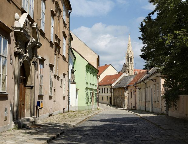 Słowacja. Bratysława - ciekawe ulice, place, zakątki