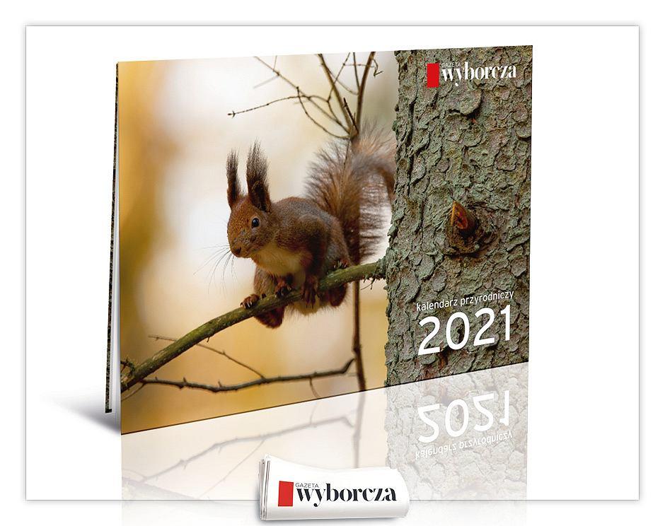 Kalendarz przyrodniczy na 2021 rok ze zdjęciami Adama Wajraka już w czwartek, 12 listopada listopada z 'Wyborczą'