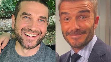Marcin Dorociński, David Beckham