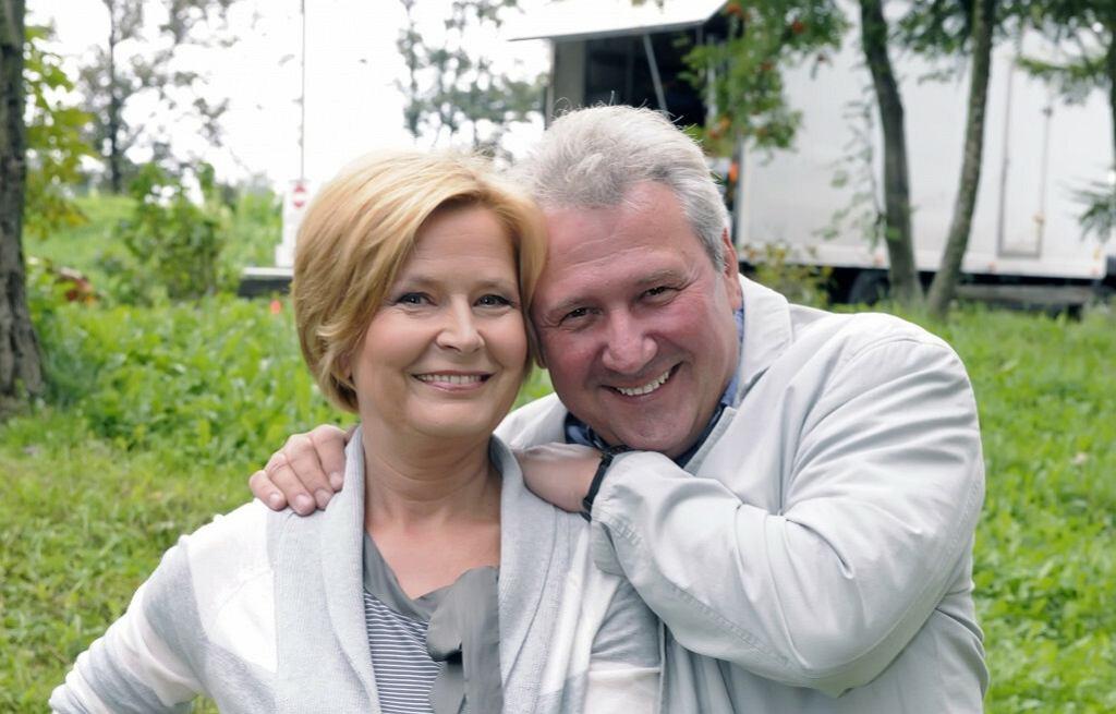 Barbara Bursztynowicz i Andrzej Grabarczyk