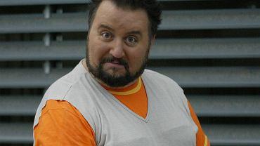 DAriusz Gnatowski jako Arnold Boczek na planie serialu 'Świat według Kiepskich'
