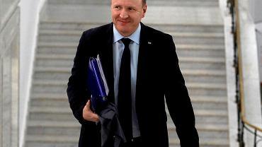 Prezes TVP Jacek Kurski w Sejmie