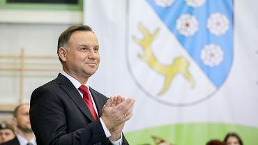 Prezydent Andrzej Duda z wizytą w Nowym Mieście Lubawskim, 11.12.2019