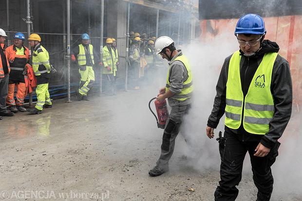 Wrocław, szkolenie BHP dla pracowników Skanskiej