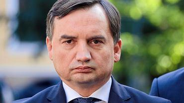 Minister Sprawiedliwości i prokurator generalny Zbigniew Ziobro.