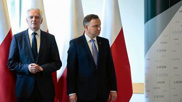Jarosław Gowin tłumaczył się ze słów o Andrzeju Dudzie