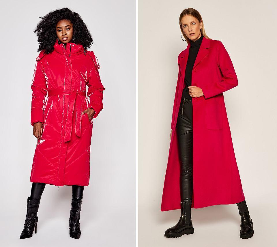Czerwone płaszcze na sezon jesień/zima 2020/21