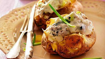 Śledzik w ziemniaku