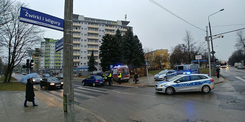 Wypadek w Radomiu. 42-letnia piesza została potrącona na przejściu przy ul. Kusocińskiego