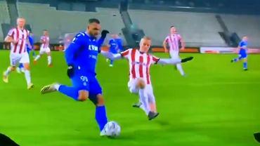 Kontrowersja z meczu Cracovia - Wisła