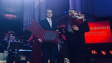 Mateusz Morawiecki uhonorowany tytułem Człowieka Roku 2018 'Gazety Polskiej'