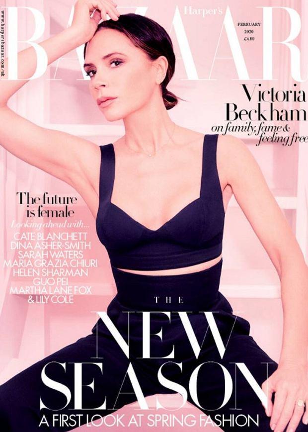 Victoria Beckham w lutowym 'Harper's Bazaar'