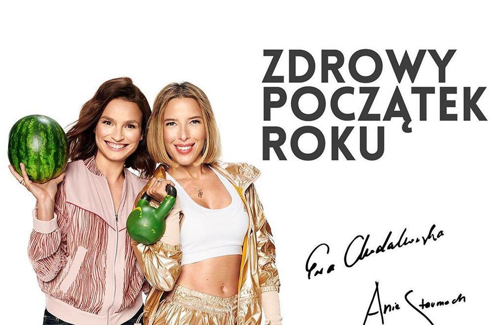 Ania Starmach i Ewa Chodakowska - wspólny projekt