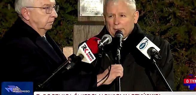 Tylko TVP Info transmitowało mszę w intencji Jadwigi Kaczyńskiej