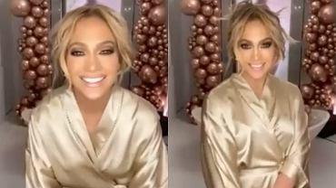 Jennifer Lopez pokazała się bez makijażu. Zmyła go na oczach fanów. 'Wyglądasz zupełnie inaczej'