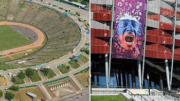 Kiedyś Stadion XX, dziś Stadion Narodowy, Warszawa