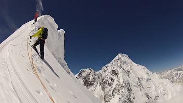 Simon Anthamatten prawie na szczycie