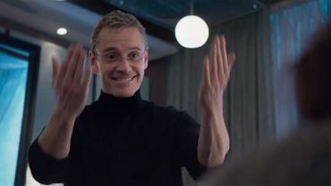 "Kadr z filmu ""Steve Jobs"""