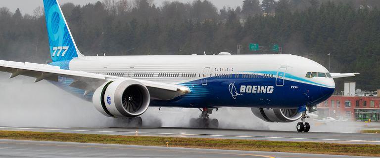Boeing 777X odbył blisko 4-godzinny lot