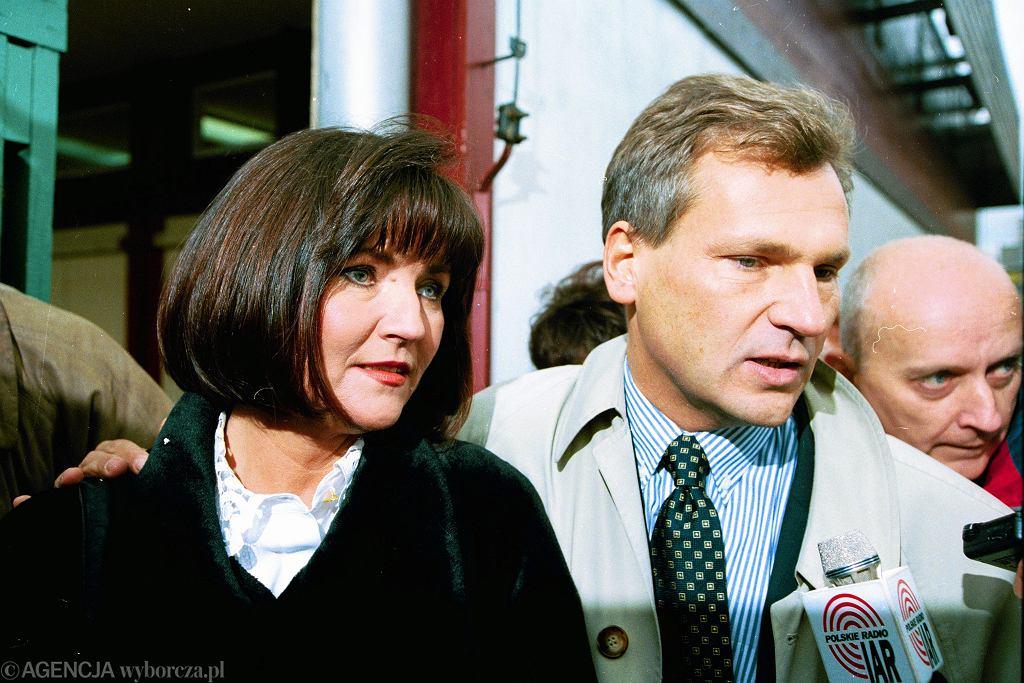 Aleksander i Jolanta Kwaśniewscy, 1995 rok
