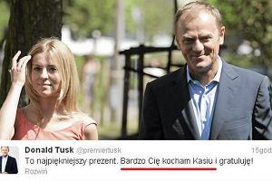 Donald Tusk, Kasia Tusk.