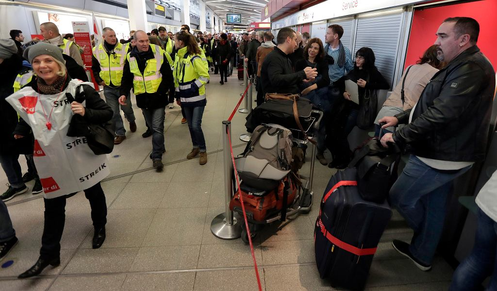 Germany Airport Strike