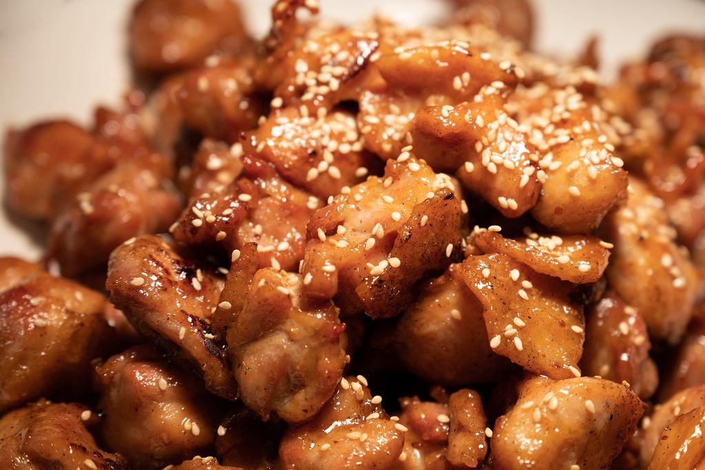 Lepki kurczak teriyaki