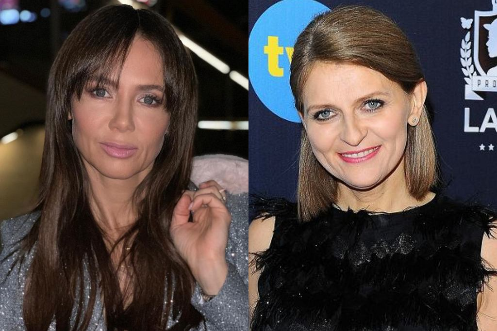 Kinga Rusin i Irena Kamińska-Radomska