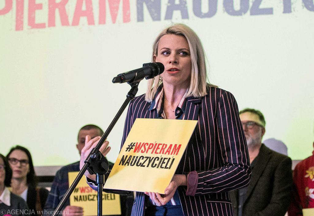 Maria Sadowska - powołanie funduszu strajkowego w Warszawie