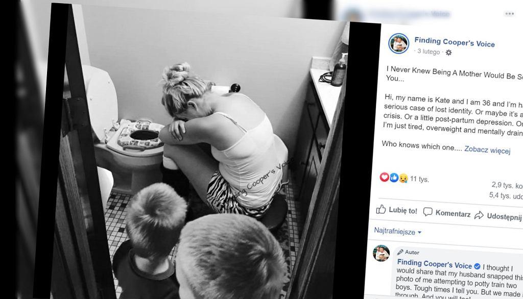 Mama jest zmęczona wychowaniem dzieci. Opisała to na blogu