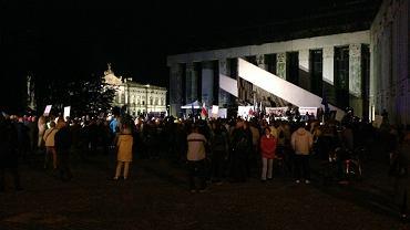 Protest przed Sądem Najwyższym, 3 lipca 2018 w Warszawie