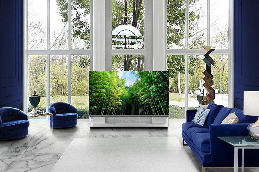 Telewizor LG OLED jako stylowy element wystroju