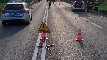 549efd31e33f2 Śmiertelny wypadek na drodze krajowej. Nie żyje młody kierowca [ZDJĘCIA]