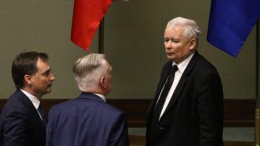 Zbigniew Ziobro, Jarosław Gowin, Jarosław Kaczyński