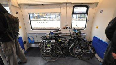 Rowery w regionalnym pociągu