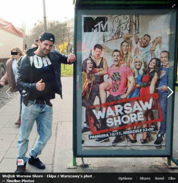 Wojtek z Warsaw Shore