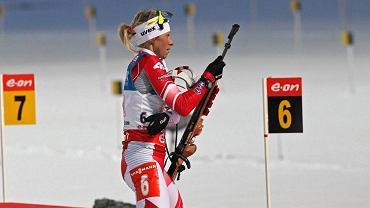 Krystyna Pałka, wicemistrzyni świata w biatlonie